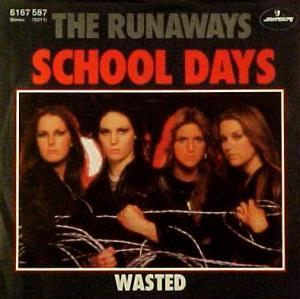 Runaways, The: School Days - Cover