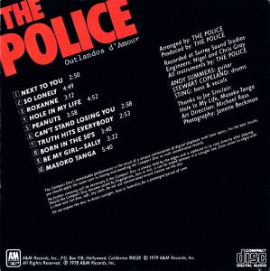 The Police: Outlandos d'Amour (CD) - Bild 2