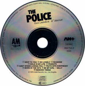 The Police: Outlandos d'Amour (CD) - Bild 3