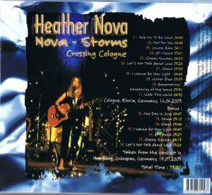 Heather Nova: Nova Storms Crossing Cologne - CD (2003, Bootleg, Live