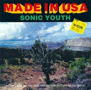 Sonic Youth: Made In USA - Cover