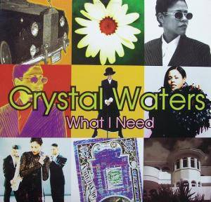 Crystal Waters: What I Need - Cover