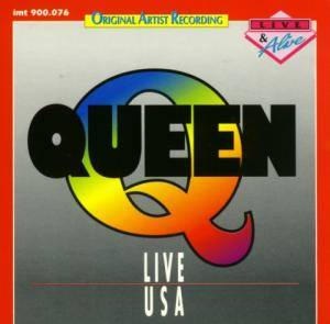 Queen: Live USA - Cover