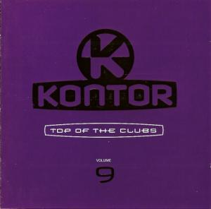 Kontor - Top Of The Clubs Vol. 09 - Cover