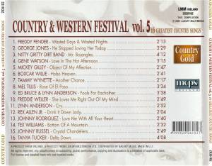 Country & Western Festival 5 - 16 Greatest Country Songs (CD) - Bild 2