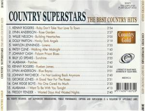Country Superstars - The Best Country Hits (CD) - Bild 2