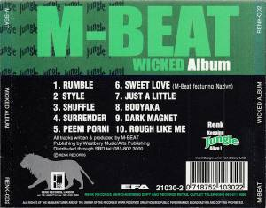 M-Beat: Wicked Album (CD) - Bild 2
