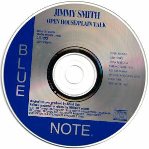 Jimmy Smith: Open House / Plain Talk (CD) - Bild 4