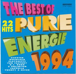 Cover - Intermission Feat. Lori Glori: Best Of Pure Energy 1994, The