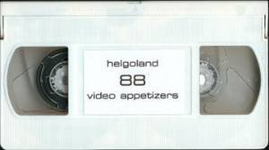 Cover - Helgoland: 88 Video Appetizers