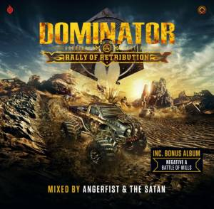 Cover - DJ Nosferatu: Dominator 2019 - Rally Of Retribution