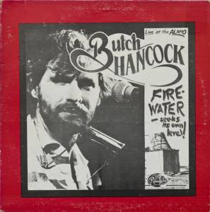 Cover - Butch Hancock: Firewater-Seeks Its Own Level!