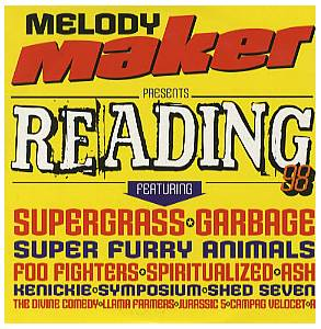 Cover - Campag Velocet: Melody Maker Presents Reading 98