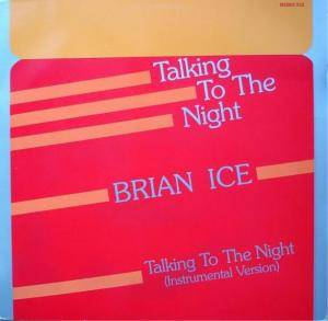 Cover - Brian Ice: Talking To The Night