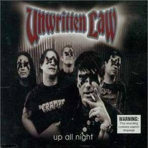 Cover - Unwritten Law: Up All Night