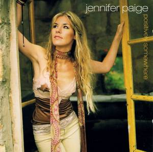 Cover - Jennifer Paige: Positively Somewhere