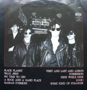 The Sisters Of Mercy: First And Last And Always (LP) - Bild 3