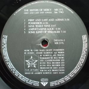 The Sisters Of Mercy: First And Last And Always (LP) - Bild 7