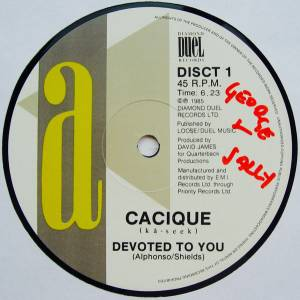 Cover - Cacique: Devoted To You