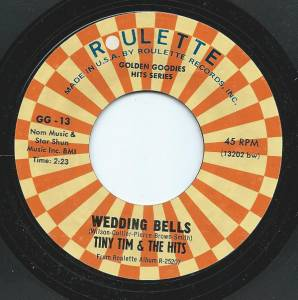 "Tiny Tim & The Hits + Sonny Till & The Orioles: Wedding Bells (Split-7"") - Bild 1"
