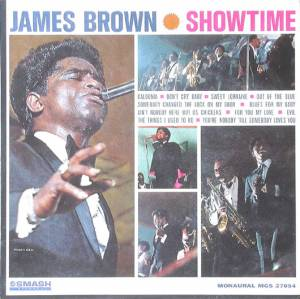 Cover - James Brown: Showtime
