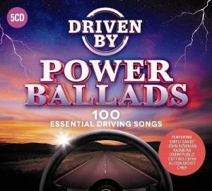 Cover - Billie Myers: Driven By Power Ballads - 100 Essential Driving Songs