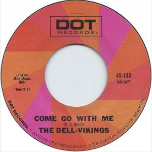 Cover - Del-Vikings, The: Come Go With Me / Whispering Bells