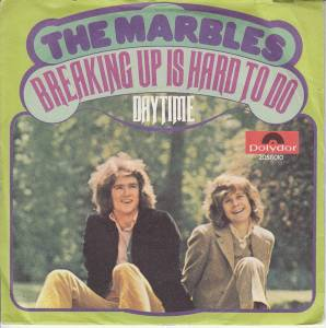 Cover - Marbles, The: Breaking Up Is Hard To Do