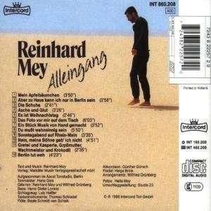 Reinhard Mey: Alleingang (CD) - Bild 2
