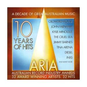 Cover - Margaret Urlich: ARIA - 10 Years Of Hits