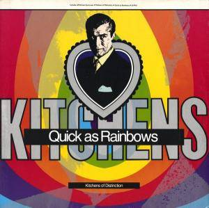 Cover - Kitchens Of Distinction: Quick As Rainbows