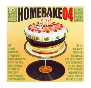 Cover - Pete Murray: Homebake 04: 10th Anniversary Edition