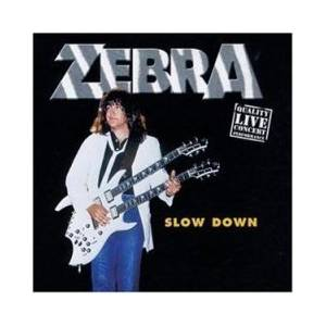 Cover - Zebra: Slow Down