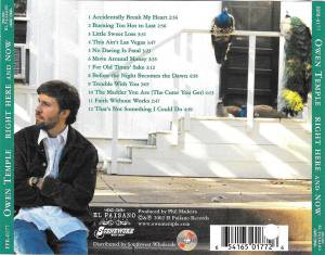 Owen Temple: Right Here And Now (CD) - Bild 2