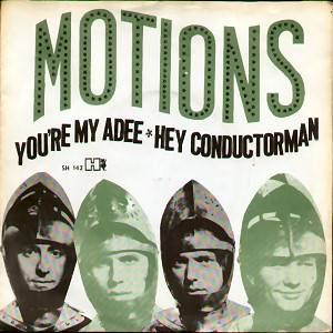 Cover - Motions, The: You're My Adee / Hay Conductor Man