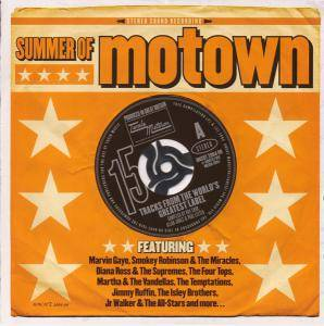 Summer Of Motown: 15 Tracks From The World's Greatest Label - Cover