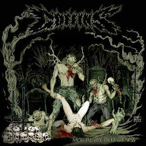 Coffins: Mortuary In Darkness - Cover