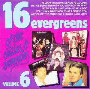 Cover - Ricky Valance: 16 Evergreens Of The Sixties & Seventies Volume 6