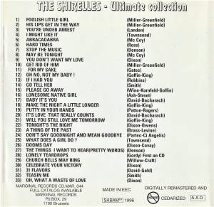 The Shirelles: Ultimate Collection - Hits & Rarities (CD) - Bild 2