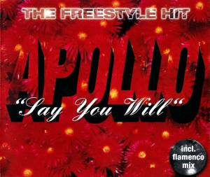 Apollo: Say You Will (Single-CD) - Bild 1