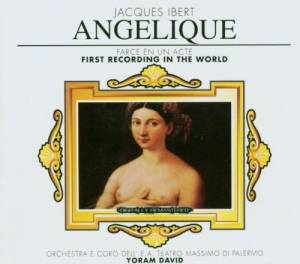 Cover - Jacques Ibert: Angelique