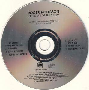 Roger Hodgson: In The Eye Of The Storm (CD) - Bild 3