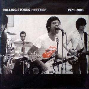 The Rolling Stones: Rarities 1971-2003 - Cover