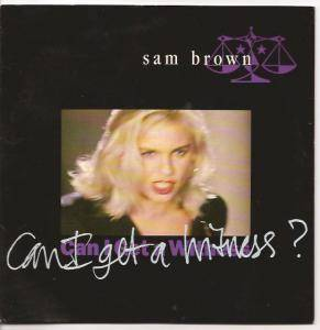 Sam Brown: Can I Get A Witness? - Cover