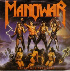 Manowar: Blow Your Speakers - Cover
