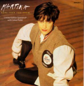 Martika: More Than You Know - Cover