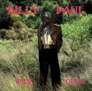 Cover - Billy Paul: Wide Open