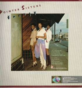 The Pointer Sisters: Energy (LP) - Bild 2