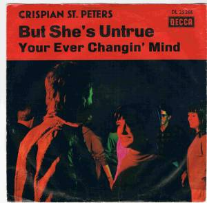 Cover - Chrispian St. Peters: But She's Untrue / You Ever Changin' Mind
