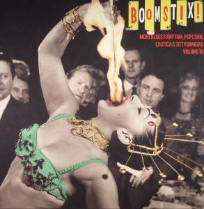 "Cover - ""5"" Royales, The: Boom Stix! Blues & Rhythm, Popcorn, Exotica & Tittyshakers Vol. 10"